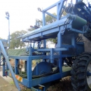 3505 Asa-Lift leek harvester trailed with automatic box system